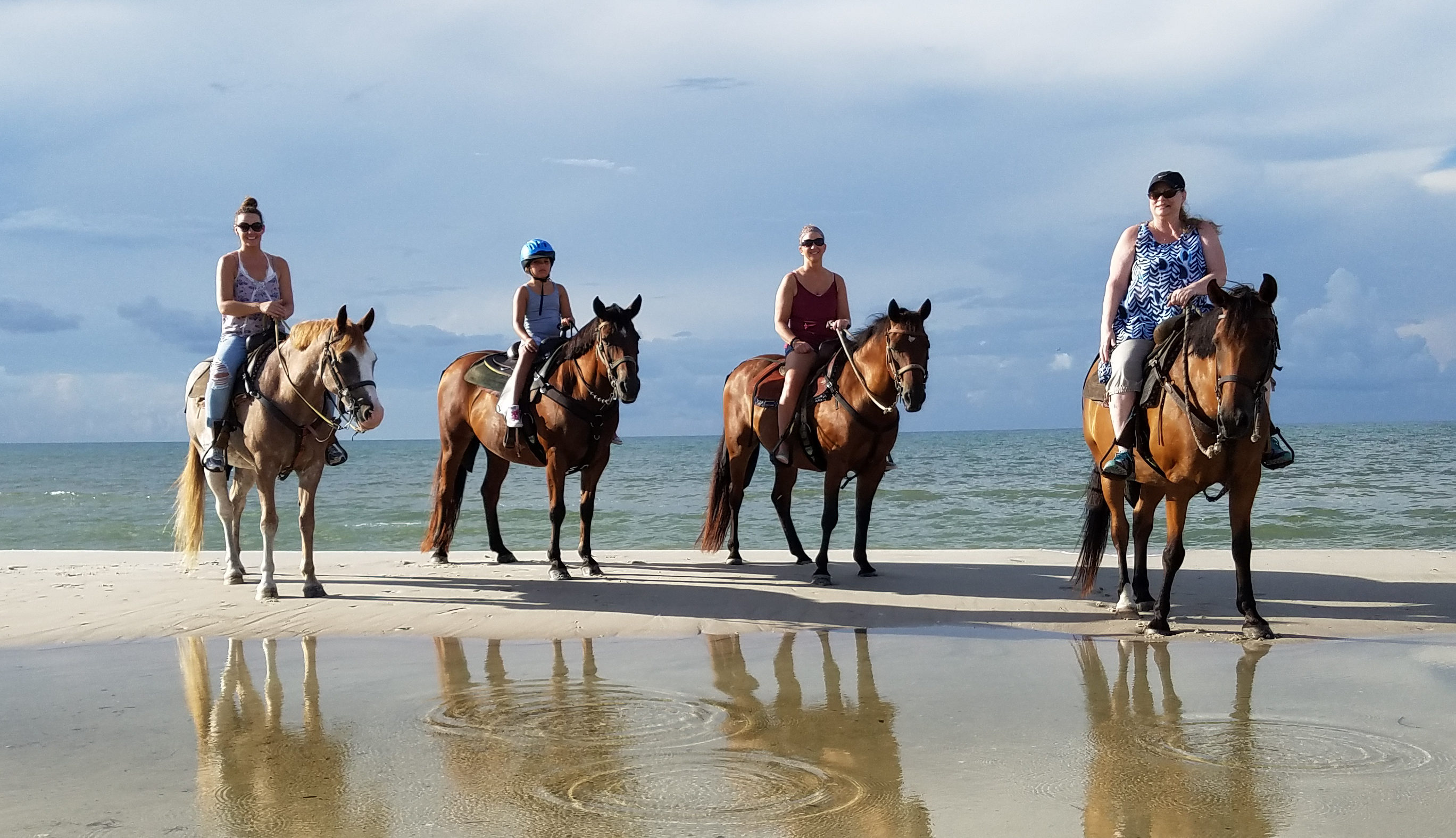 two bit stable horseback riding on the beach horseback riding on